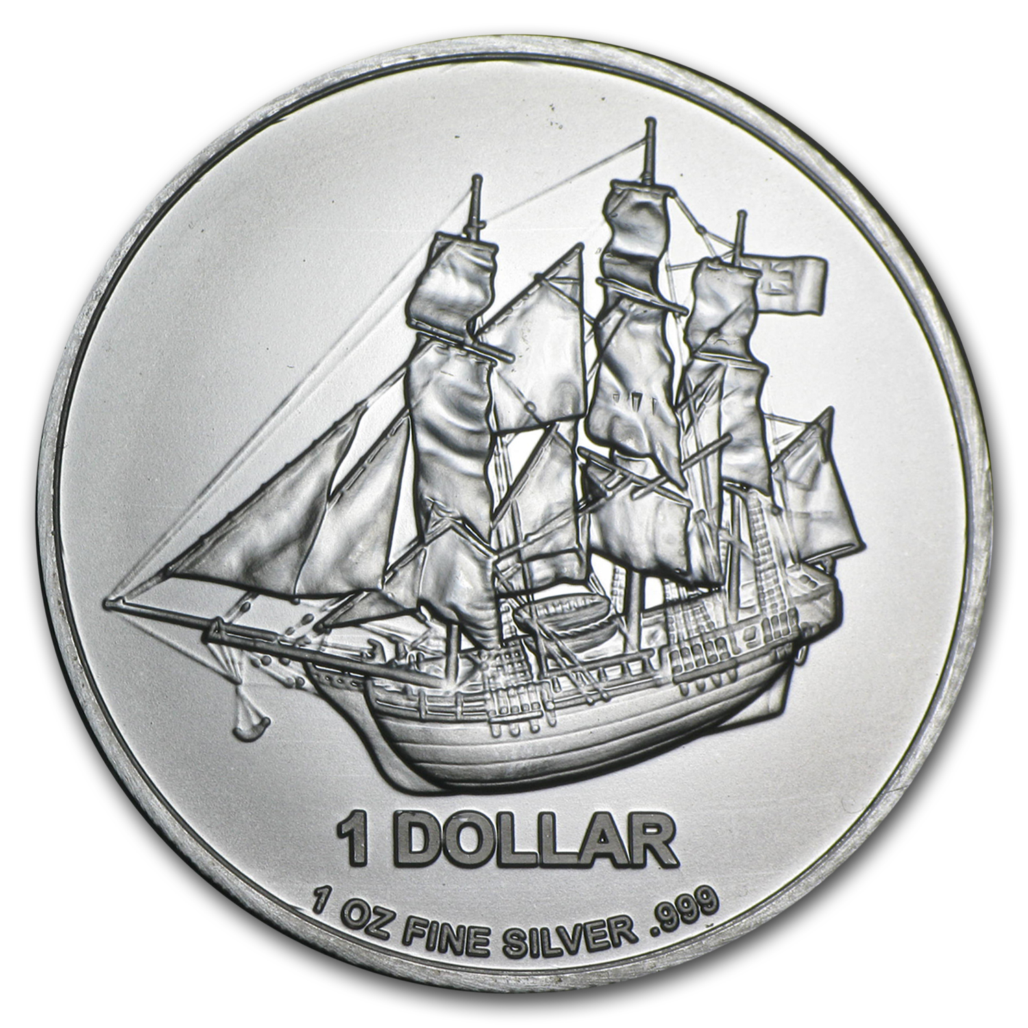 2014 Cook Islands 1 oz. Silver Bounty Coin